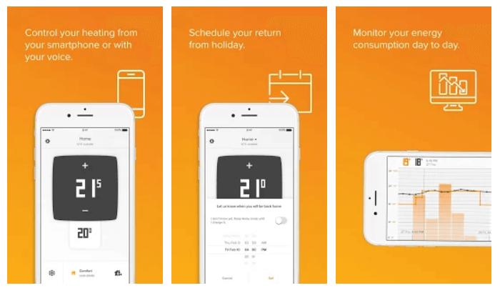 App móvil netatmo